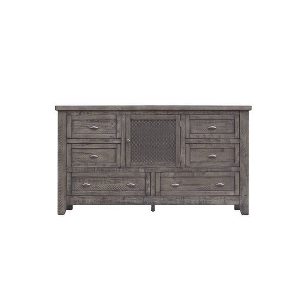 Roberson 6 Drawer Combo Dresser by Union Rustic
