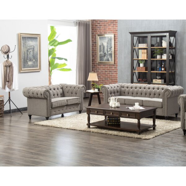 Teressa 2 Piece Living Room Set by Darby Home Co Darby Home Co