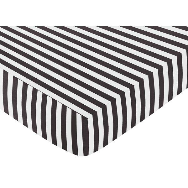 Paris Fitted Crib Sheet by Sweet Jojo Designs