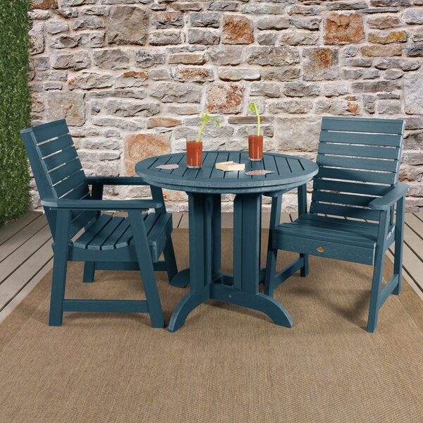 Trigg 3 Piece Bistro Set by Darby Home Co