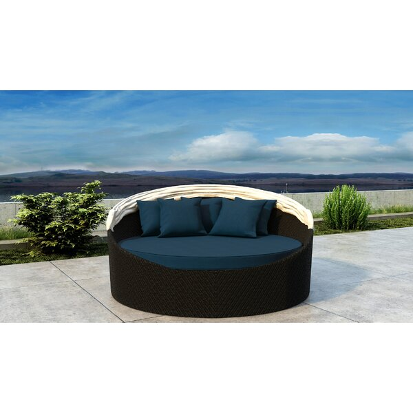 Gillham Patio Daybed with Sunbrella Cushion by Orren Ellis