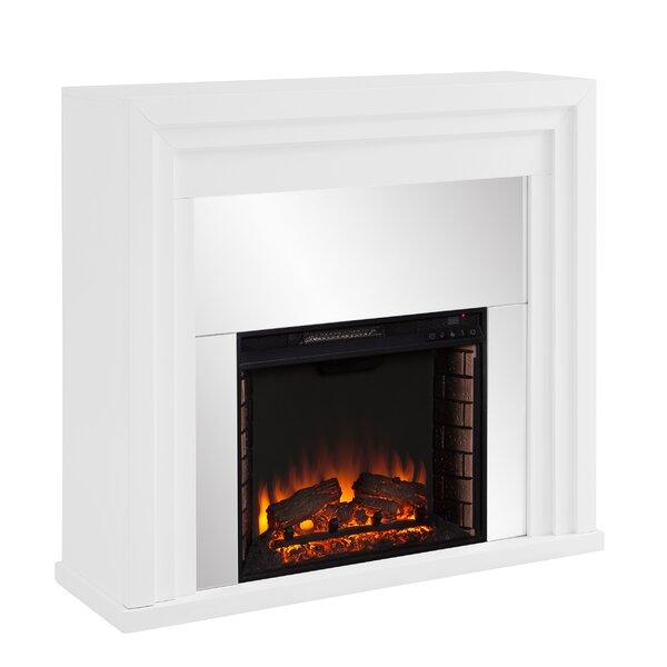 Stadderly Mirrored Fireplace By Orren Ellis