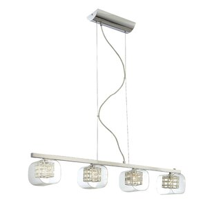 Read Reviews Artemisia 4-Light Kitchen Island Pendant By Willa Arlo Interiors
