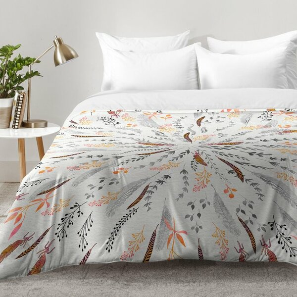 Feather Roll Comforter Set