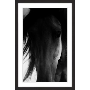 Shadow Horse Framed Painting Print by Marmont Hill