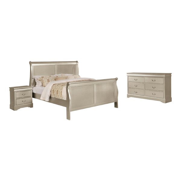 Citrana Sleigh Standard Configurable Bedroom Set by House of Hampton