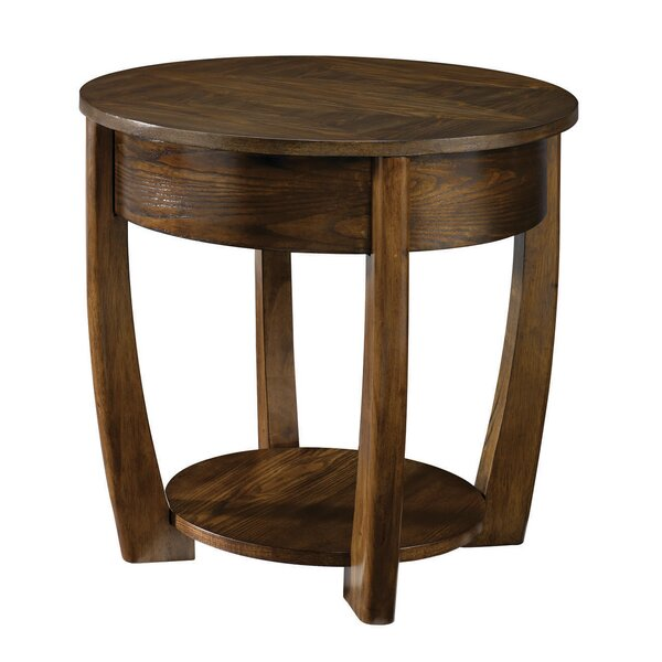 Hatfield End Table by Bloomsbury Market