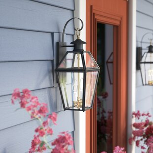Best Reviews Alam 2-Light Outdoor Wall Lantern By Darby Home Co