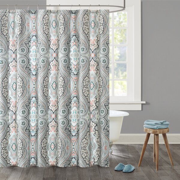 Sterling Cotton Shower Curtain By Echo Design.