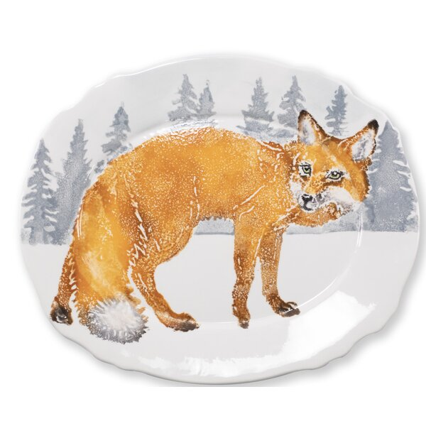 Fox Oval Platter by VIETRI