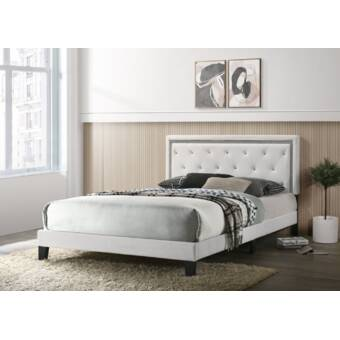 Everly Quinn Janicki Upholstered Standard Bed Wayfair
