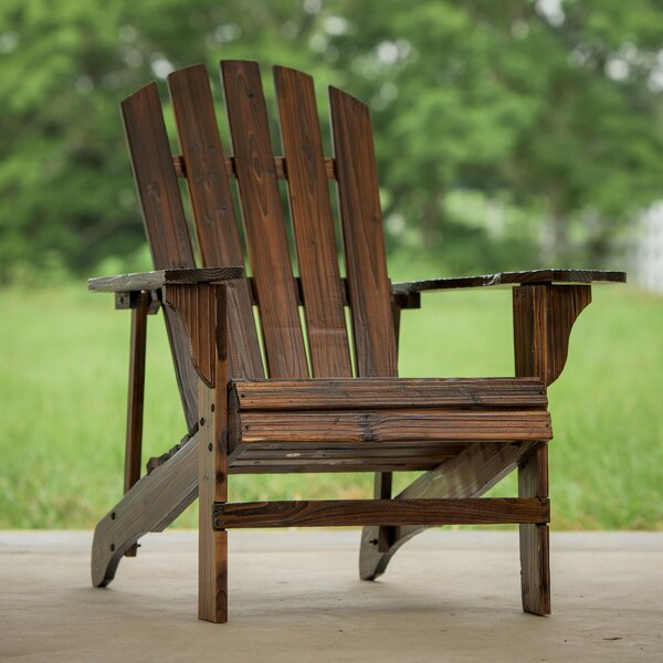 Solid Wood Adirondack Chair by Winston Porter Winston Porter