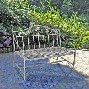 Okelly Iron Garden Bench