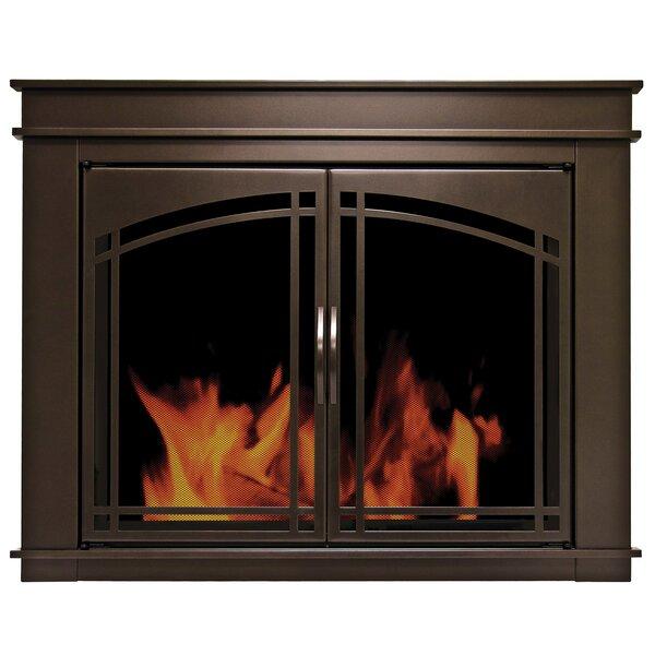 Fenwick Cabinet Style Steel Fireplace Doors By Pleasant Hearth