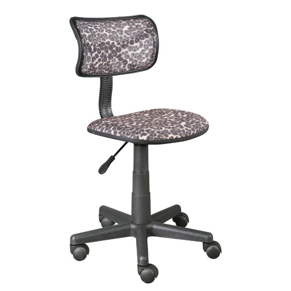Leopard Mesh Desk Chair by Urban Shop