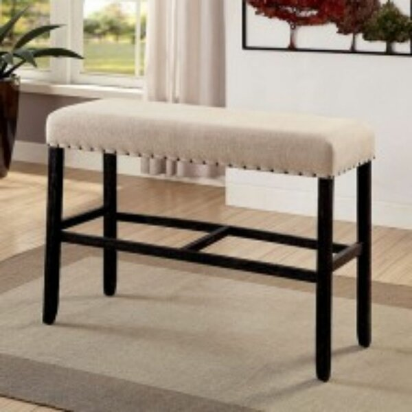 Duhon Upholstered Bench by Gracie Oaks