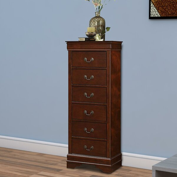 Gateshead 6 Drawer Chest by Charlton Home