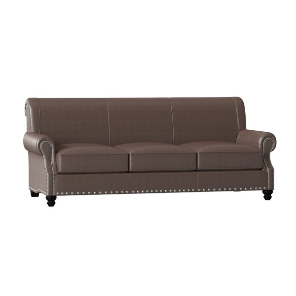 Weekend Promotions Landry Leather Sofa by Birch Lane Heritage by Birch Lane�� Heritage