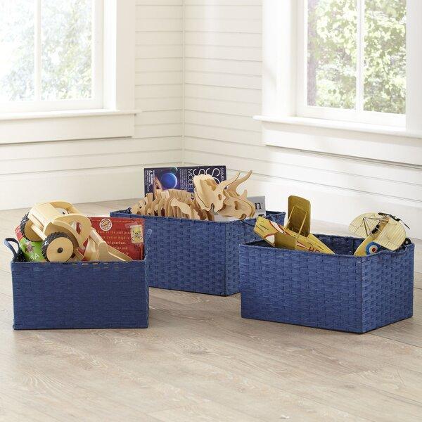 Simple Storage Bins Set Of 3 By Birch Lane Kids.