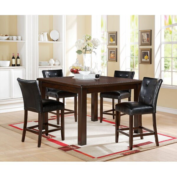 Lowder 5 Piece Pub Table Set by Red Barrel Studio