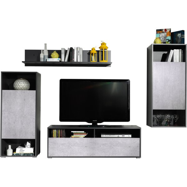 Rossi Wall Unit 51 Entertainment Center by Latitude Run