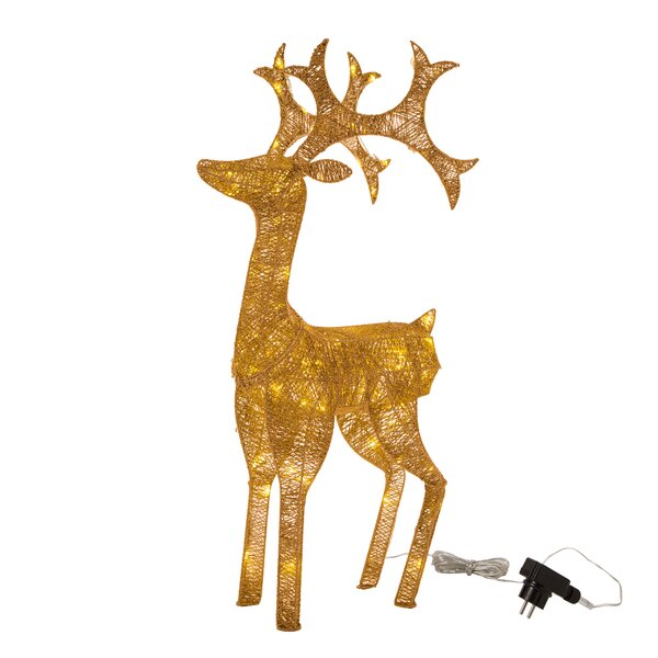 LED Reindeer String Lights by Glitzhome