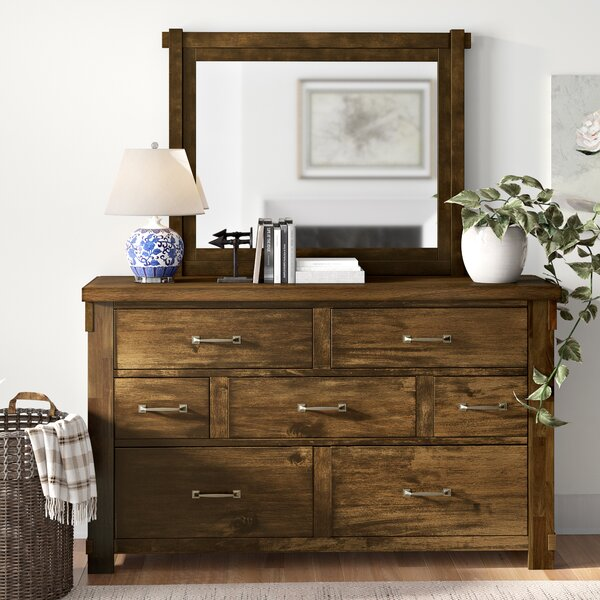 Pudsey 7 Drawer Dresser by Three Posts