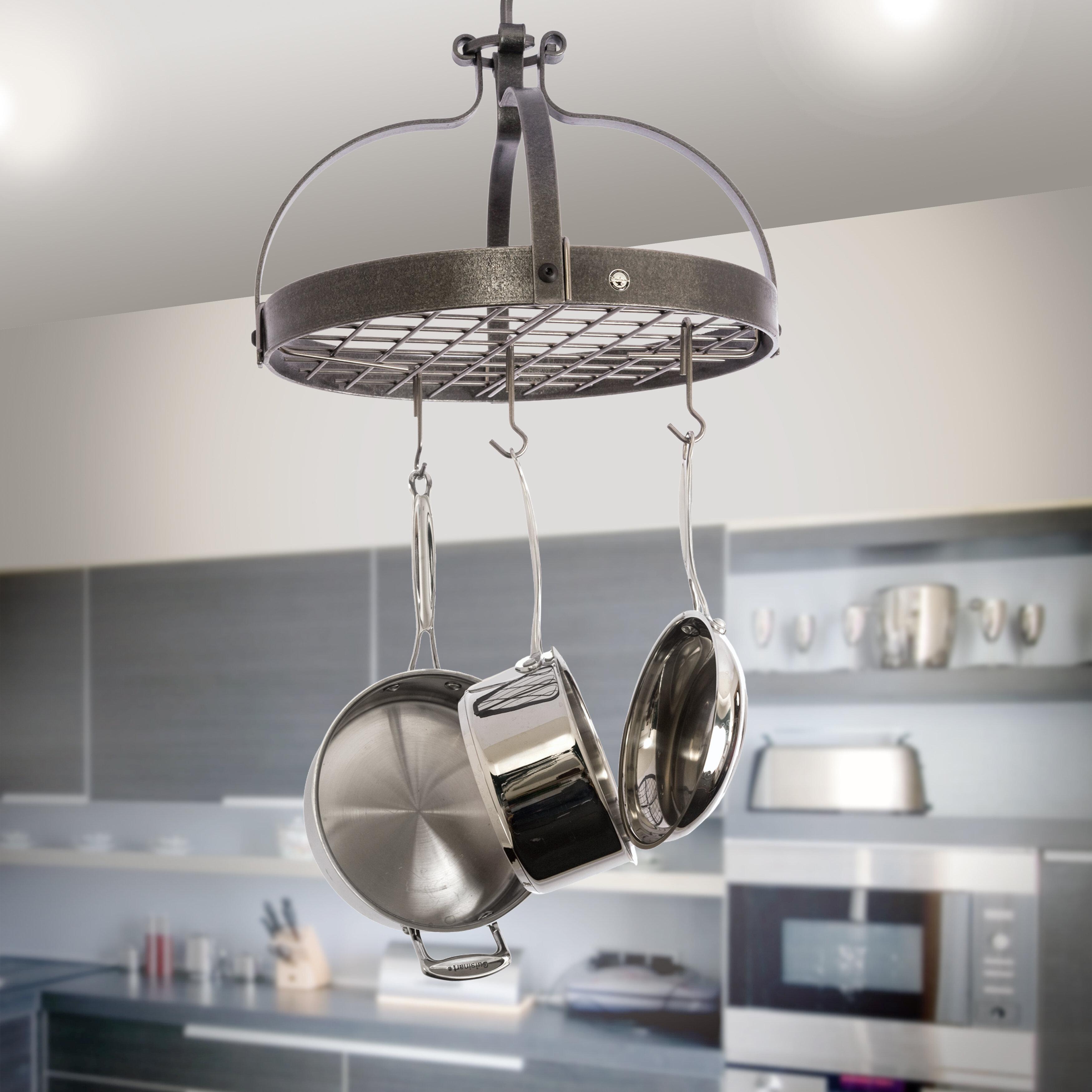 Gourmet Dutch Crown Hanging Pot Rack