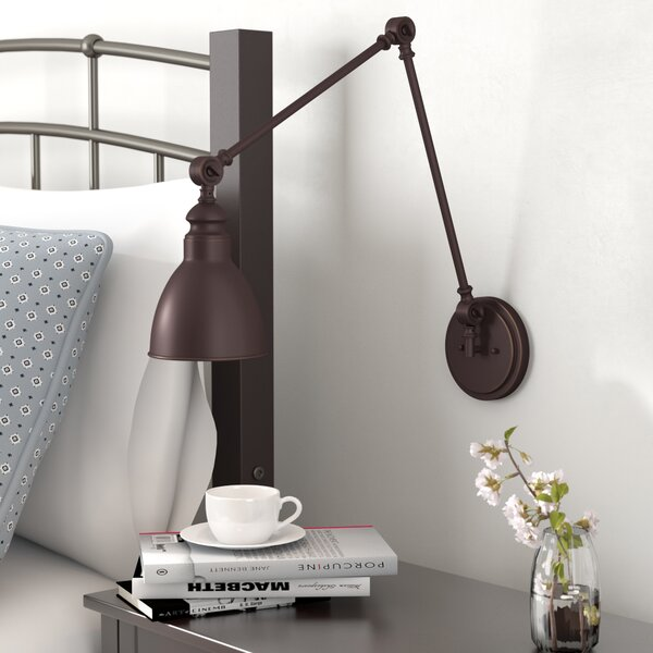Gardenhire Swing Arm Lamp by Three Posts