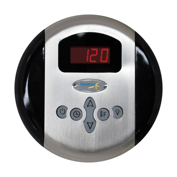 Indulgence 7.5 kW QuickStart Steam Bath Generator Package with Built-in Auto Drain by Steam Spa