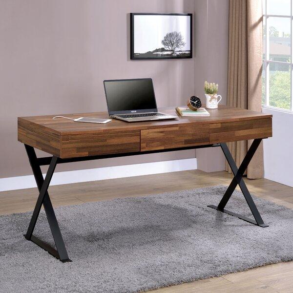 Bodnar 3 Drawer Computer Desk