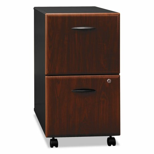 Series A 2-Drawer Mobile Vertical Filing Cabinet by Bush Business Furniture