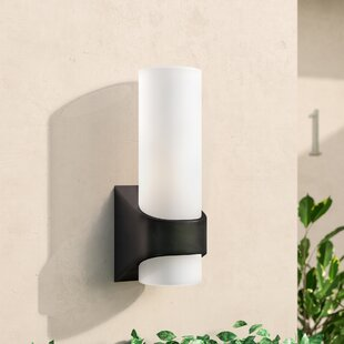 Read Reviews Chalmers 1-Light Outdoor Sconce By Wade Logan