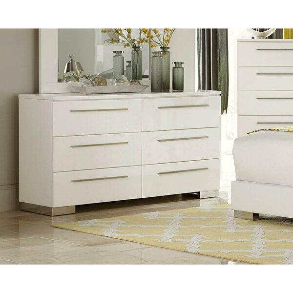 Palmhurst 6 Drawer Double Dresser by Orren Ellis