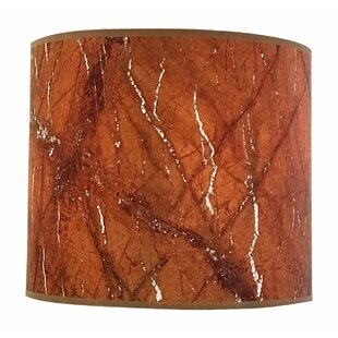 Online Reviews Marble Texture Hardback Paper Drum Lamp Shade By Red Barrel Studio