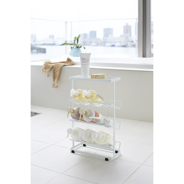 Canel Free Standing Shower Caddy by Rebrilliant