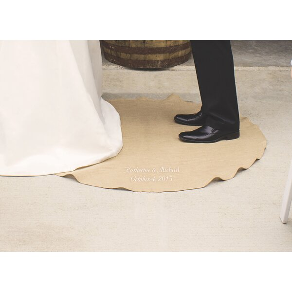 Personalized Keepsake Wedding Vow Rug by Cathys Concepts