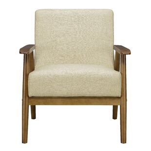 Accent Chairs With Wood Arms Wayfair