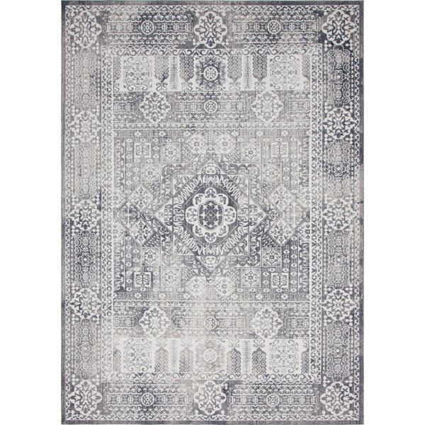 Gomez Gray Area Rug by Bungalow Rose