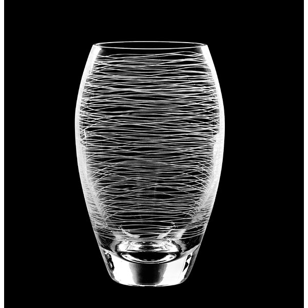 Graffiti High Ball Glass (Set of 4) by Qualia Glass