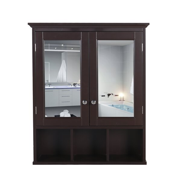 Thorntown 23.6 W x 30.3 H x 4.5 D Wall Mounted Bathroom Cabinet
