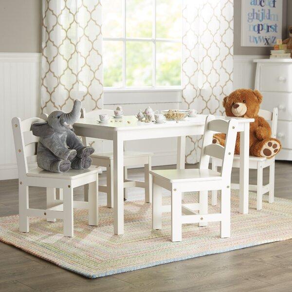 Rickey Kids 5 Piece Table & Chair Set by Viv + Rae