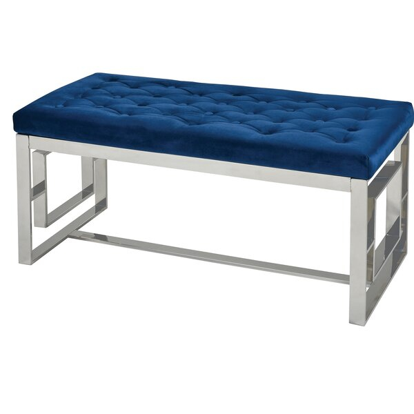 Aptos Upholstered Bench By Rosdorf Park by Rosdorf Park Great price