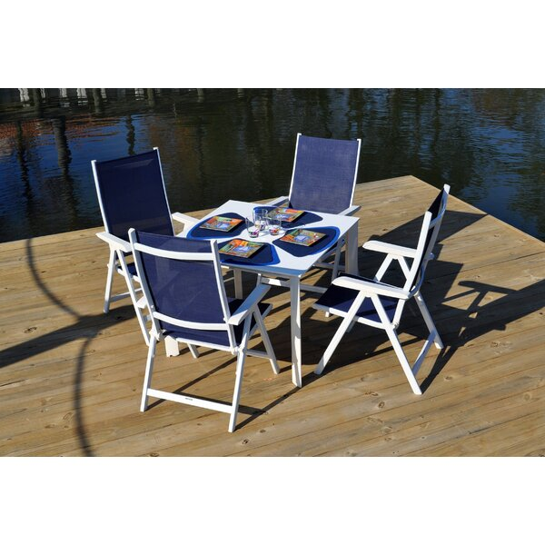 Basic Plus 5 Piece Dining Set by Kettler USA