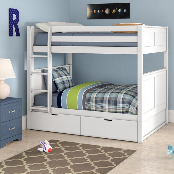 G Full Over Full Bunk Bed With Drawers By Viv + Rae by Viv + Rae Cool