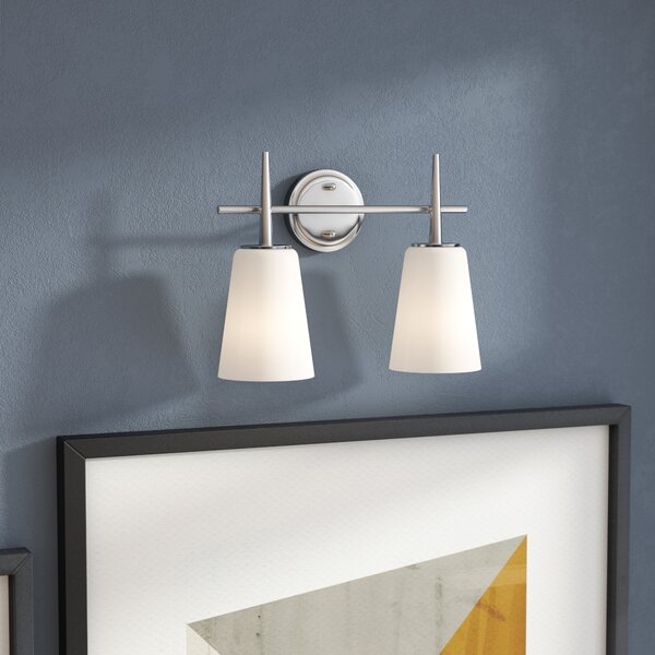 Ganador 2-Light Vanity Light by Langley Street