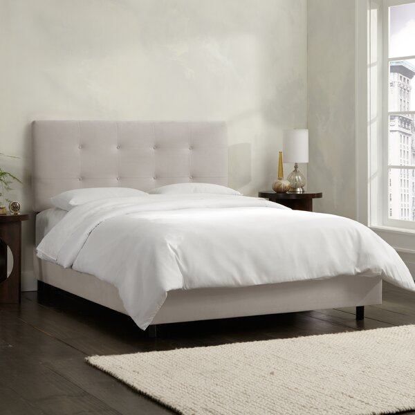 Upholstered Standard Bed by Skyline Furniture