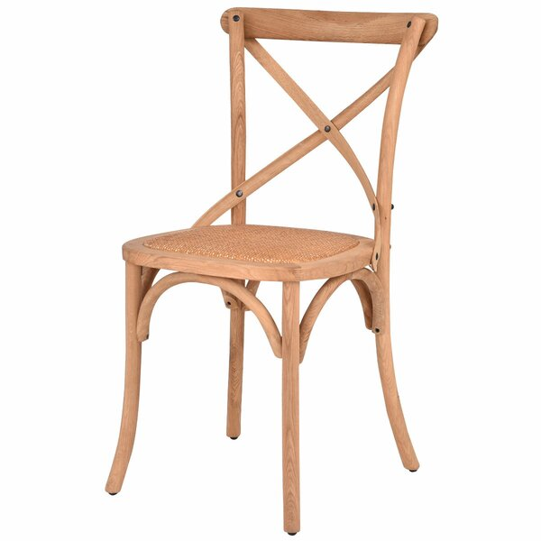 Malloy Kitchen Solid Wood Dining Chair by August Grove