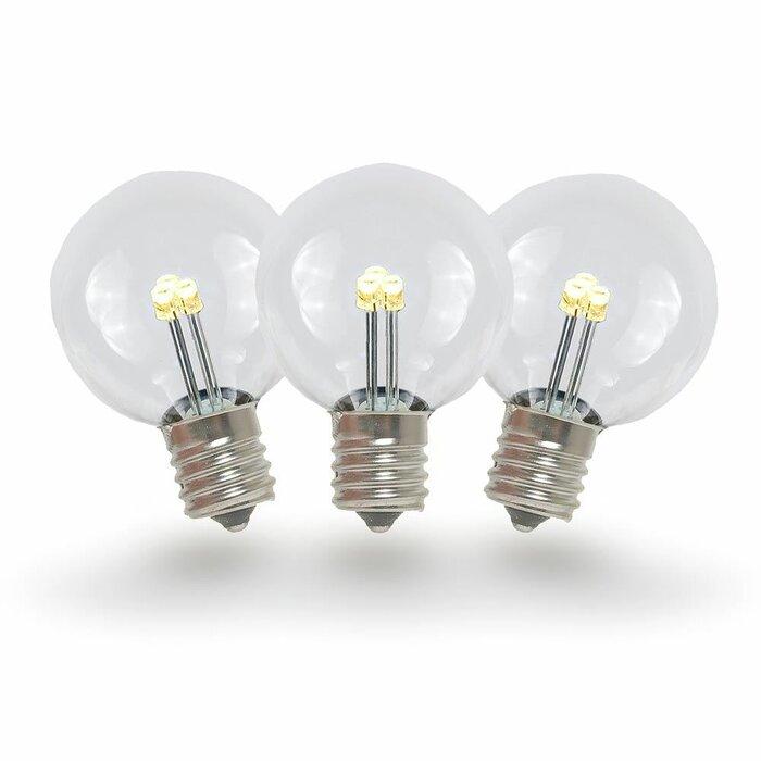 C7 Led Bulb >> 0 50 Watt C7 Led Non Dimmable Light Bulb E12 Candelabra Base