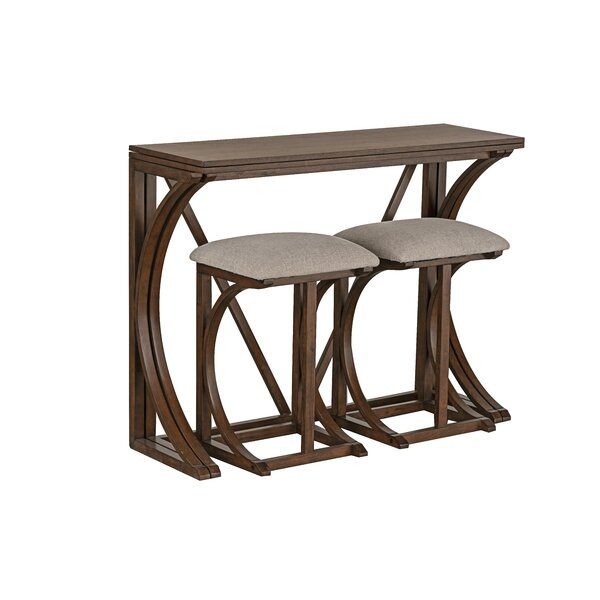 Landon 3 Piece Pub Table Set by Ophelia & Co.